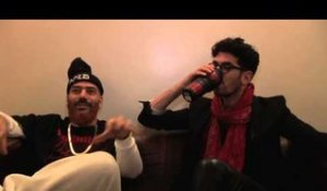 Chromeo interview - David and Patrick (part 1)