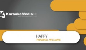 Happy - Pharrell Williams - KARAOKE HQ