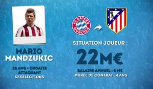 Officiel : Mandzukic rejoint l'Atlético Madrid !
