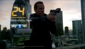 "24 Heures Chrono - Live Another Day - 9x12 - Bande-annonce UK - Promo de ""10:00 PM - 11:00 PM"""
