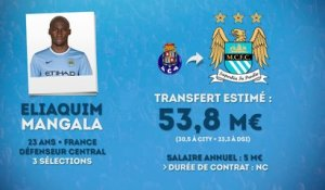 Officiel : City s'offre Eliaquim Mangala !