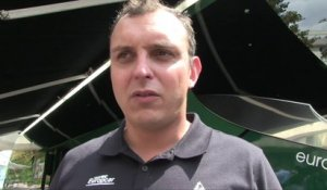 Tour de France 2014 - Etape 21 : Andy Flickinger le directeur sportif du Team Europcar et son bilan du Tour