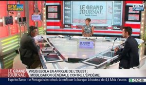 Guillaume Duval et Thomas Vampouille, dans Le Grand Journal - 04/08 7/7