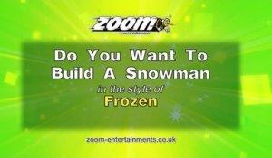 Zoom Karaoke - Do You Want to Build a Snowman - Frozen Soundtrack