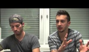 Twenty One Pilots interview - Josh and Tyler