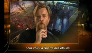Star Wars Episode III : La Revanche des Sith- Extrait Making Of Ewan McGregor (VOST)