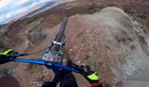 Run MTB de Paul Basagoitia - Red Bull Rampage 2014