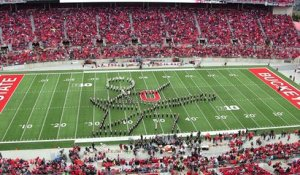 The Ohio State Marching Band's Tribute To Classic Rock