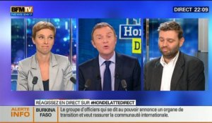 Le Face à Face: Jean-Christophe Buisson VS Clémentine Autain, dans Hondelatte Direct - 31/10