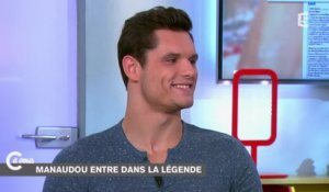 L'interview de Florent Manaudou - C à vous - 10/12/2014
