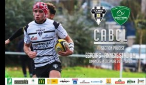 Espoirs J13 - saison 2014/2015 : CABCL / Section Paloise