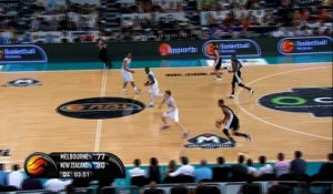 NBL - Dennis et Worthington complices sur un alley-oop dunk