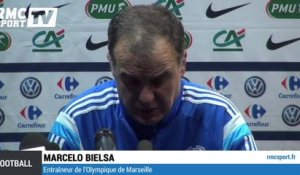 "Football / Coupe de France / Bielsa : ""C'est moi le responsable"" - 04/01"