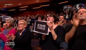 """Je suis Charlie"" sur France 2 : grand moment d'émotion en direct"