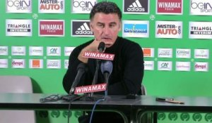FOOT - L1 - ASSE - Galtier : «Un jeu plus direct»