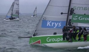 VOILE - TOUR DE FRANCE : Groupama s'impose à Roscoff