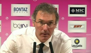 PSG - Blanc : «On n'a pas fait grand chose...»