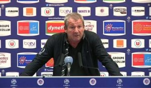 FOOT - L1 - MHSC - Courbis : «On s'en contentera»