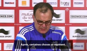 Nice-OM : la réaction de Bielsa