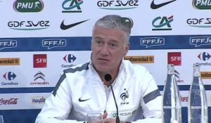 FOOT - BLEUS : Deschamps, «Un risque de suspension»
