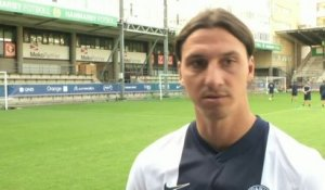 FOOT - L1 - PSG - Ibrahimovic : «Cavani devra s'adapter»