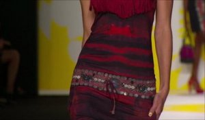 Le défilé Desigual printemps-été 2015 à la Fashion Week de New York