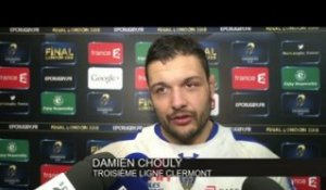 RUGBY - CE - CLERMONT - Chouly : «Il fallait absolument gagner»