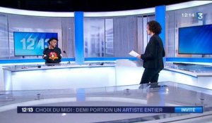 Le rappeur Demi Portion sur France 3 Montpellier