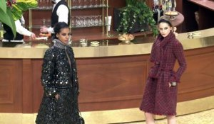 Fashion week: Chanel joue la carte de la brasserie parisienne