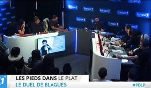 Duel de blagues entre Gilles Verdez Vs le Champion – Cyril hanouna