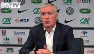 "Football / Deschamps : ""Il y a encore à progresser"" 26/03"