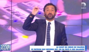 Cyril Hanouna donne 90% de son salaire - ZAPPING PEOPLE DU 17/04/2015