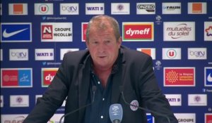 Foot - L1 - MHSC : Courbis «On se contentera de ça»
