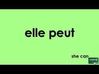 Conjugaison Du Verbe Pouvoir Au Present De L Indicatif Sur Orange Videos