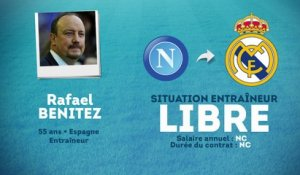 Officiel : Benitez, nouvel entraîneur du Real Madrid !