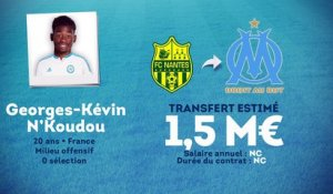 Officiel : l'OM recrute Georges-Kévin N'Koudou !