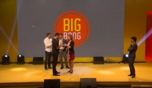 BIG BANG - Annonce du gagnant du Tour de France Digitale
