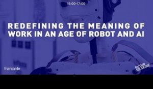 Redefining the meaning of work in an age of robots and AI (Futur En Seine 2015)