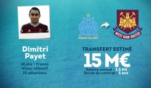 Officiel : Dimitri Payet file à West Ham !