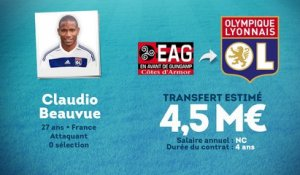 Officiel : Claudio Beauvue signe à l'OL !