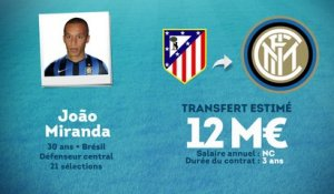 Officiel : João Miranda rejoint l'Inter Milan !