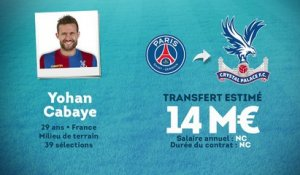 Officiel : Yohan Cabaye quitte le PSG et file à Crystal Palace !