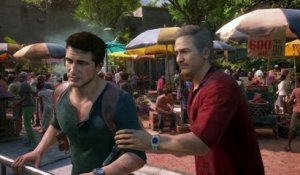 Extrait / Gameplay - Uncharted 4: A Thief's End (Gameplay Jeep Drake et Sully XXL PS4)