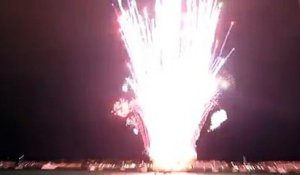 feu d'artifice fail