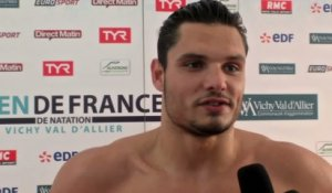 Natation - Open de France : Manaudou «Je me suis senti serein»