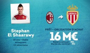 Officiel : Stephan El Shaarawy file à Monaco !