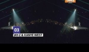 "Jay-Z & Kanye West perform ""Ni**as in Paris"" 11 times in a row"
