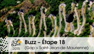 Buzz du jour / Buzz of the day - Étape 18 (Gap > Saint-Jean-de-Maurienne) - Tour de France 2015