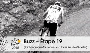 Buzz du jour / Buzz of the day - Étape 19 (Saint-Jean-de-Maurienne > La Toussuire - Les Sybelles) - Tour de France 2015