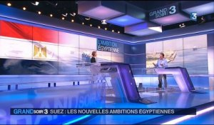 Inauguration de l'extension du canal de Suez : un coup de communication ?
